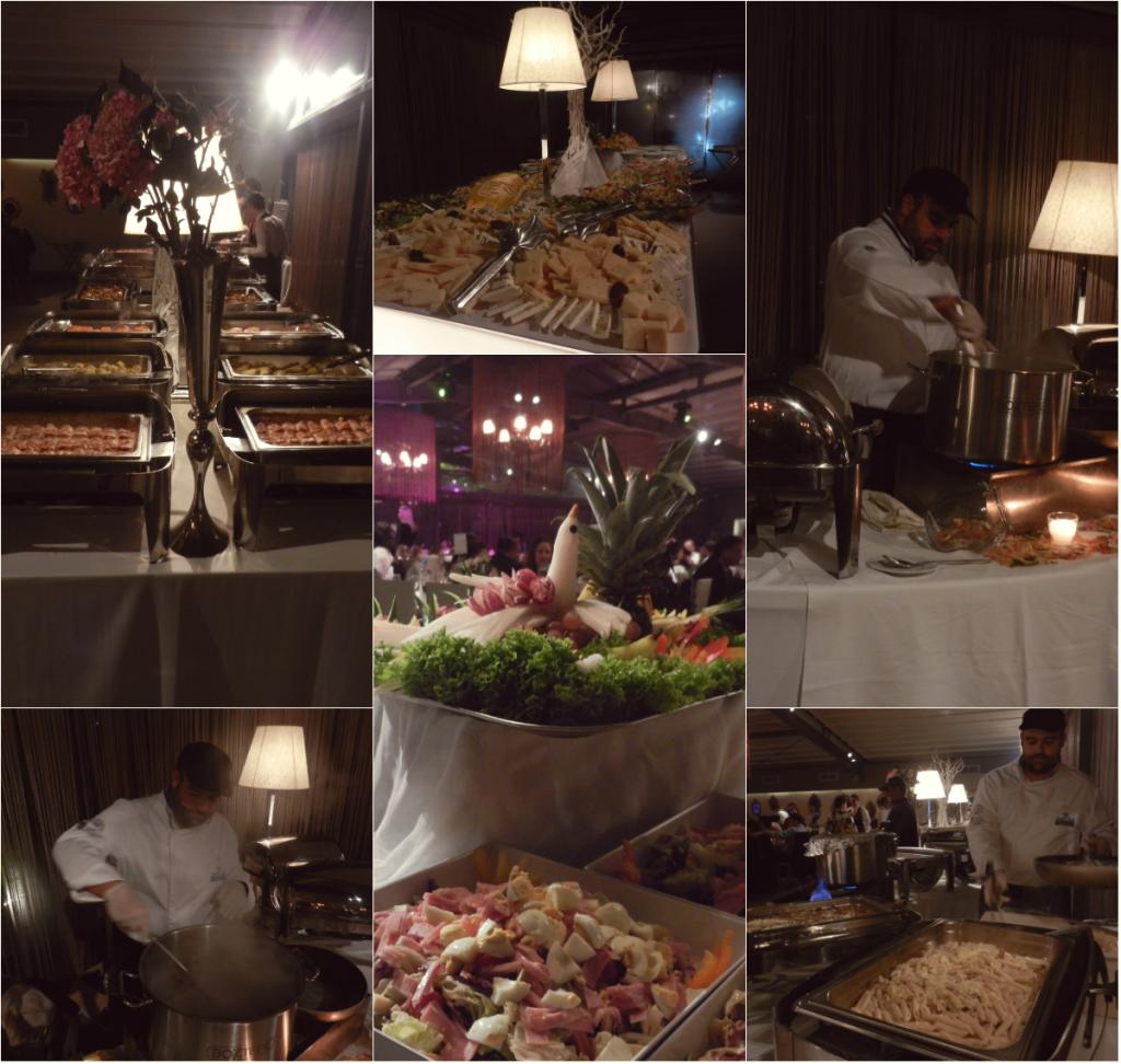 Πλούσιοι μπουφέδες και live cooking με ζυμαρικά και ριζότο