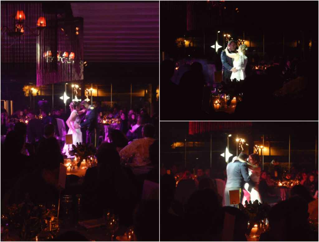 Ο πρώτος χορός του ζευγαριού σε ιδιαίτερα συγκινητικό κλίμα