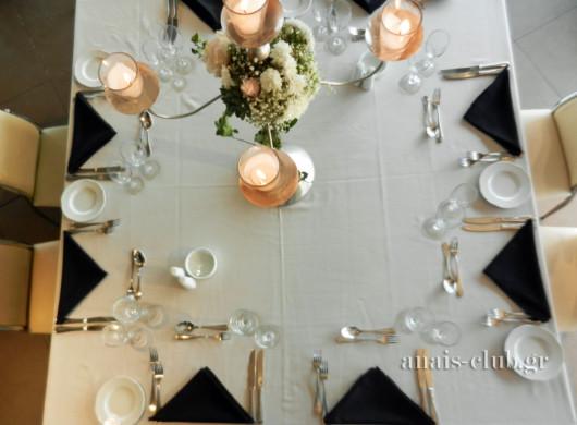 Μάθε πώς να στρώνεις σωστά ένα επίσημο τραπέζι
