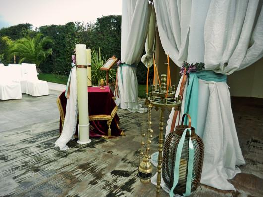 Γάμος στο εκκλησάκι του Anais club