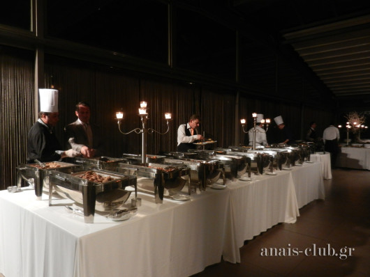Οι τελευταίες πινελιές και ο απαραίτητος έλεγχος στον buffet