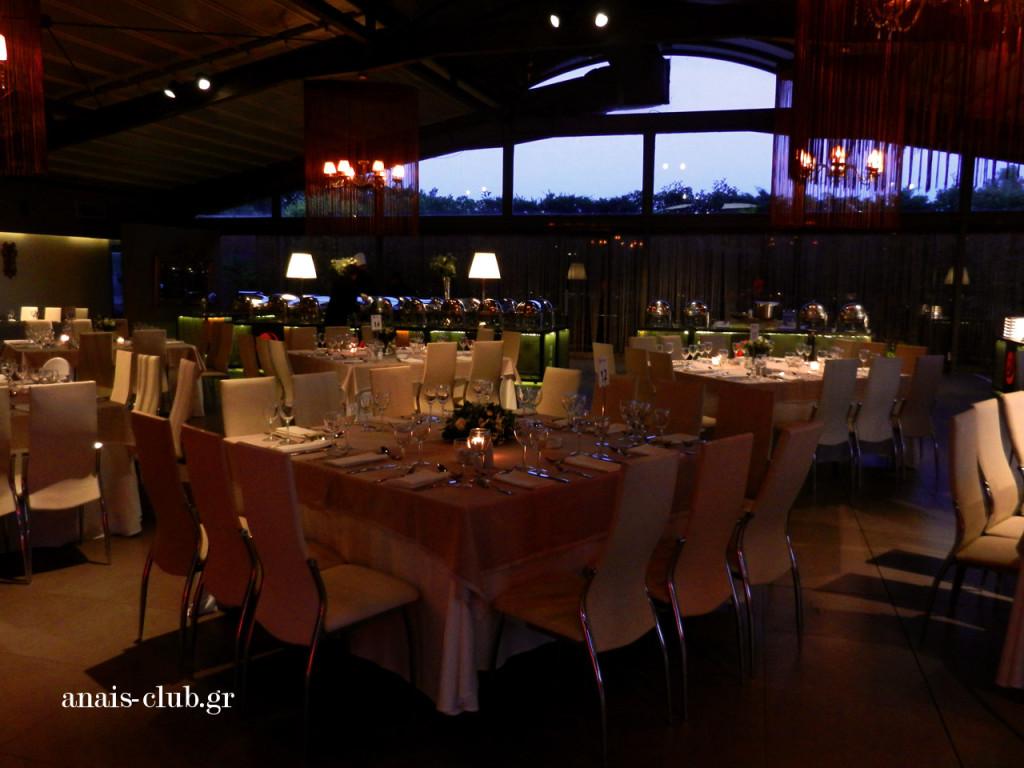 Άποψη της αίθουσας στο Anais club