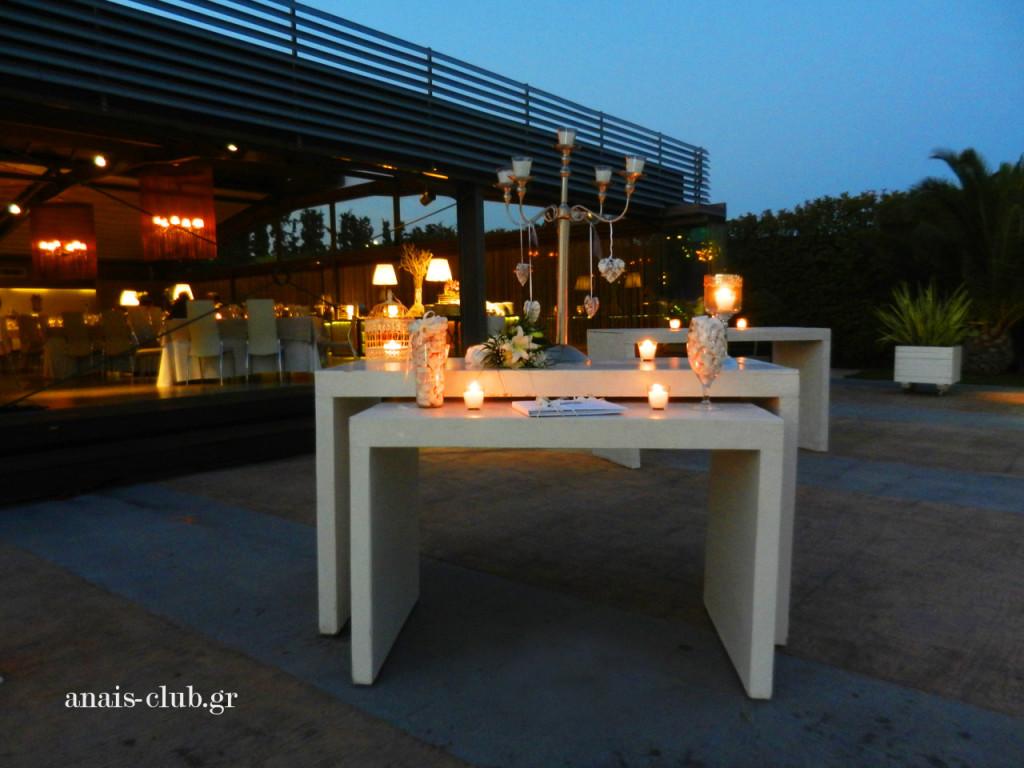 Το τραπέζι ευχών, λευκό και minimal σε στυλ
