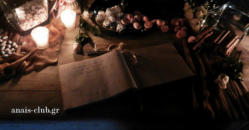 Οι περισσότεροι καλεσμένοι γράφουν στο βιβλίο ευχών μετά το ποτό καλωσορίσματος και κάποια στιγμή κατά τη διάρκεια της δεξίωσης. Λιγότεροι είναι εκείνοι που γράφουν την στιγμή της άφιξης ή της αποχώρησης
