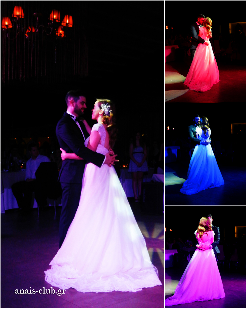 Όσο το ζευγάρι χορεύει τον πρώτο του χορό, ο υπεύθυνος για τον φωτισμό κάνει τα δικά του μικρά θαύματα, δημιουργώντας ονειρική ατμόσφαιρα για την ανεπανάληπτη αυτή στιγμή