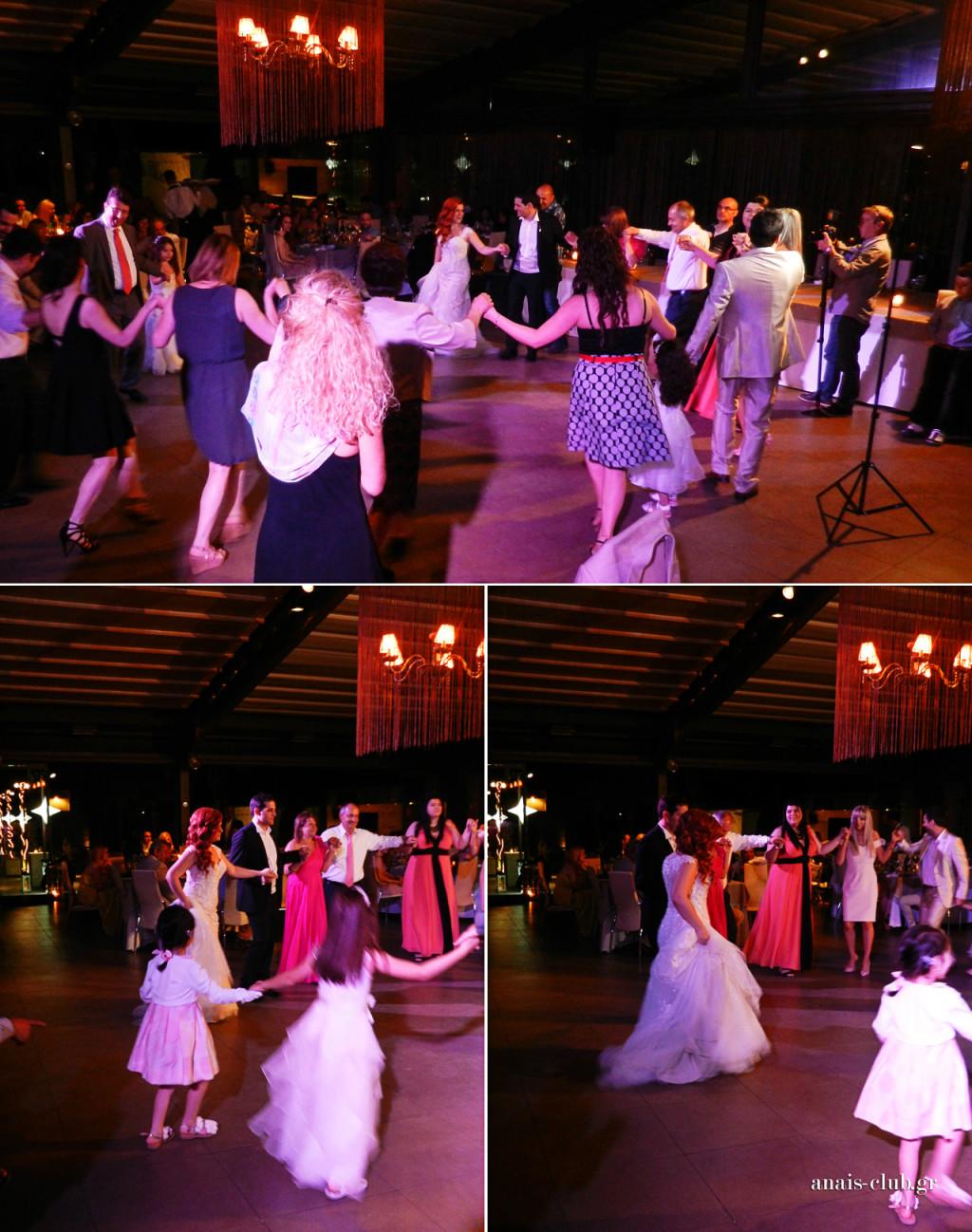 Στον γάμο, ο χορός ανοίγει με τη νύφη και τον γαμπρό. Στην αρχή χορεύουν οι οικογένειες και αφού χορέψουν όλοι πρώτοι, μπαίνουν στη συνέχεια στο χορό και οι υπόλοιποι συγγενείς και φίλοι. Και το γλέντι απογειώνεται!