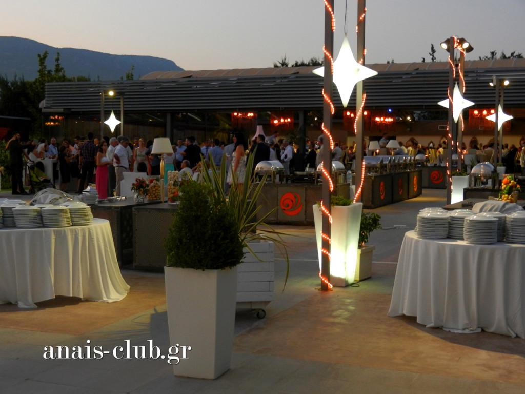 Η βραδιά της δεξίωσης ξεκίνησε με άριστη διάθεση στο lounge περιβάλλον του Anais Club