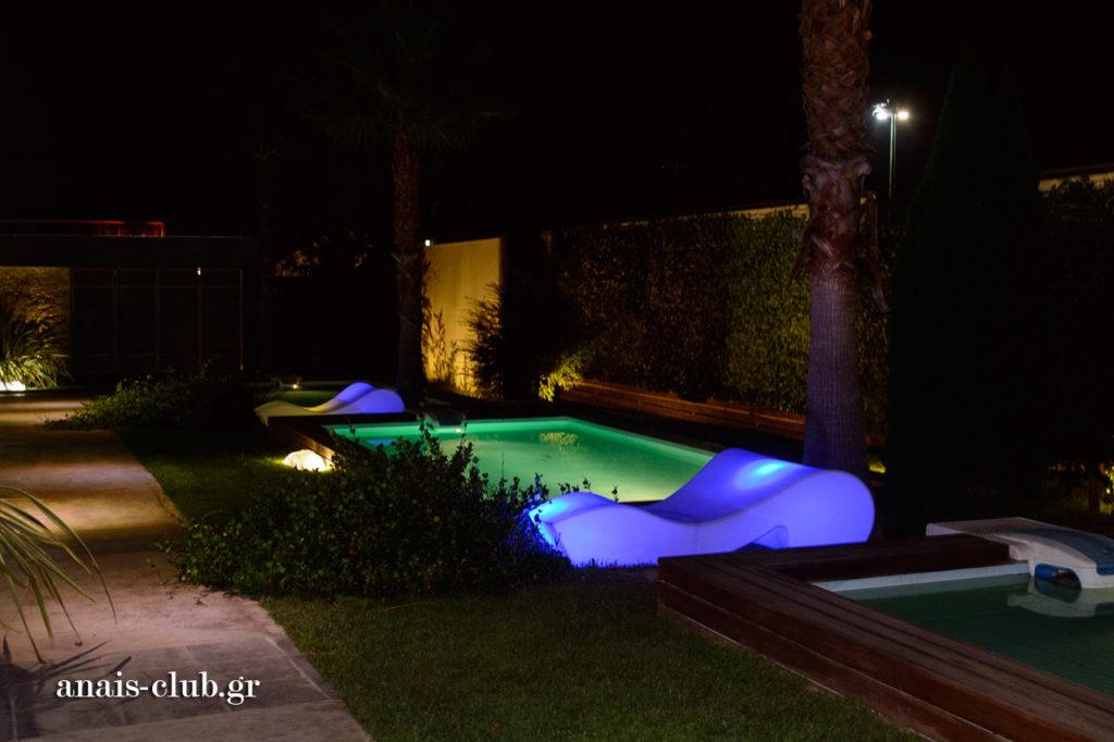 lighting pools