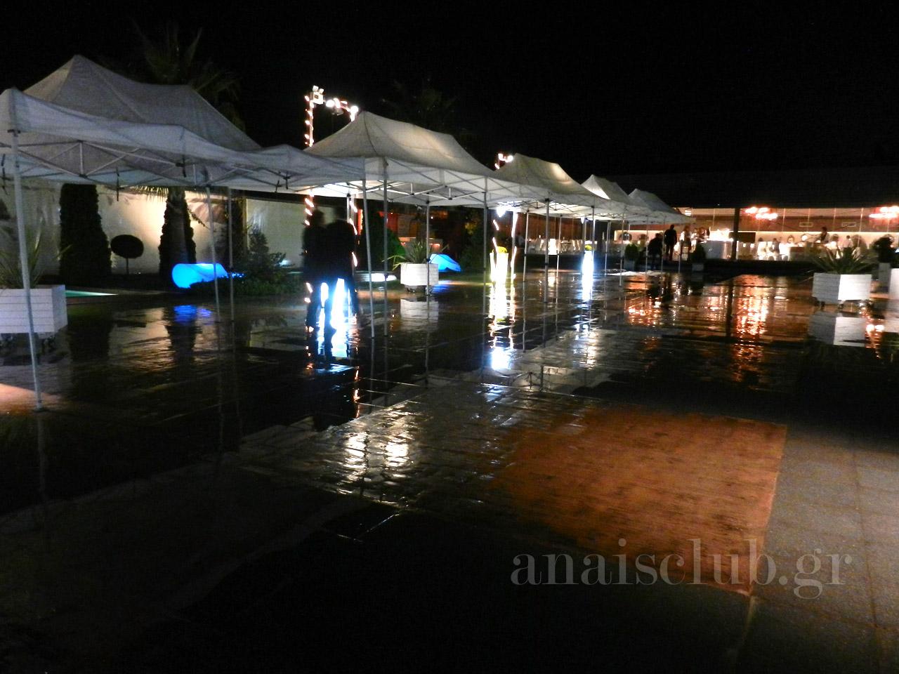 Στο Anais και για τη βροχή έχουμε λύσεις