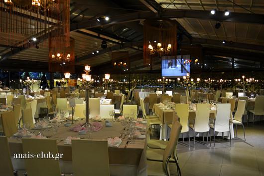 Γενική άποψη της αίθουσας Anais Club στη Βαρυμπόμπη