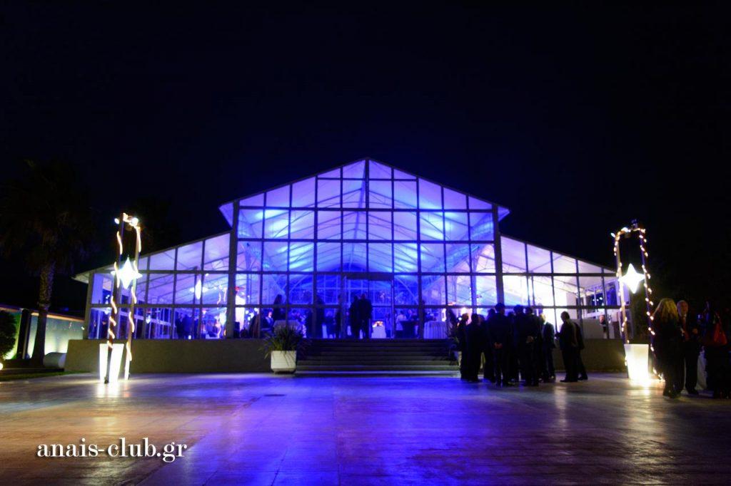 Πρόσθετη κατασκευή που προσαρτήθηκε στο Anais Club διπλασιάζοντας τη χωρητικότητα του