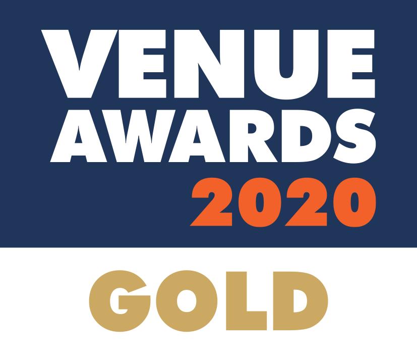 GOLD award anai club at venue awards